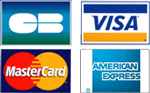 Cartes bancaire acceptés