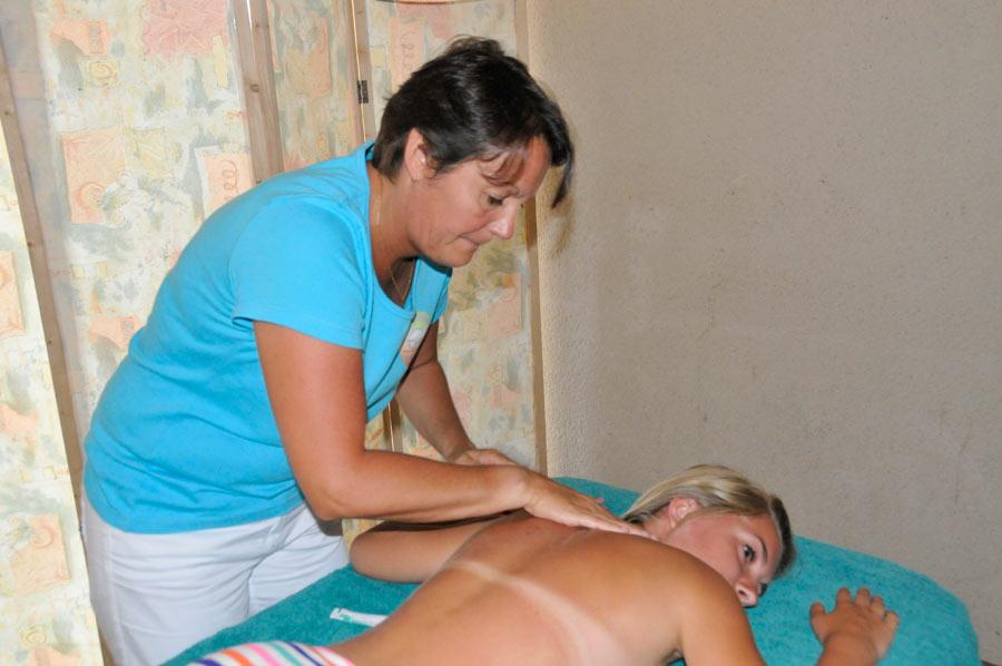 massage du camping