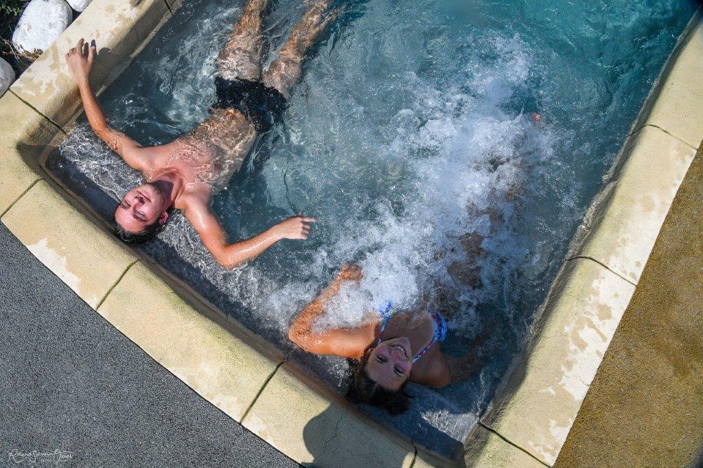 piscine et détente